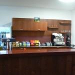 Zázemí barového pultu + infocentrum